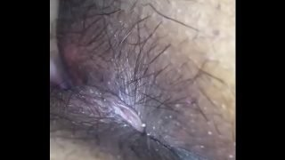 Delhi wife – hairy pussy and ass hole licked