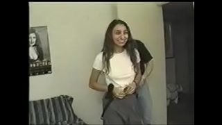 Indian girl gets used in porn