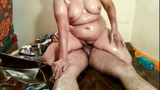 Mohini moining and full body massage xxx
